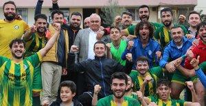 Erdemli Belediyespor, şampiyonluk ateşini yaktı