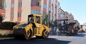 Konuksever'de sokaklar yenilendi