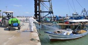 Akdeniz baştan aşağı dezenfekte ediliyor